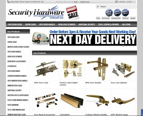 Security Hardware E-Commerce Store